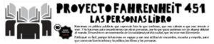 Imagen de la web del Proyecto Fahrenheit 451 (las personas libro)