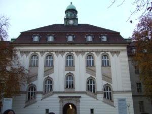 Entrada de la Biblioteca de Salud (Berlin)