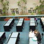 Sala de lectura de Biblioteca de Salud
