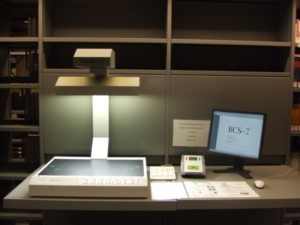 Escáner cenital de uso público
