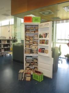 Frigocambio en la Biblioteca de Yamaguchi en Pamplona