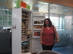 Marta García disfrutando del Frigocambio