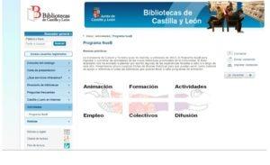 Programa Nueb Bibliotecas de Castilla  y León