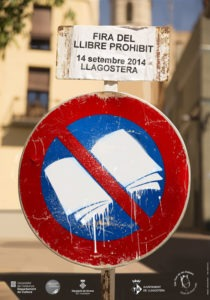 Cartel de la Fira del Llibre Prohibit