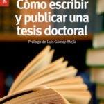 como escribir y publicar una tesis