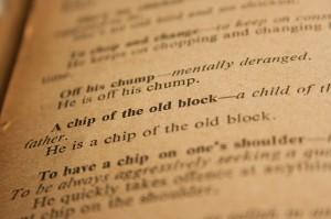 Hoja libro de antiguo