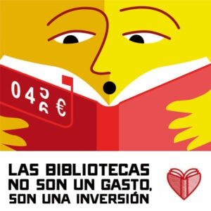 Las bibliotecas no son un gasto, son una inversión