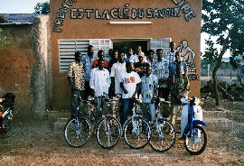 Bibliobicicletas de Burkina Faso