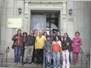 Grupo de alumnos del Modulo de Biblioteconomía, Archivística y Documentación