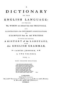 Diccionario Johnson