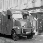 Los Amerika-Haus Bookmobiles de la Alemania ocupada.