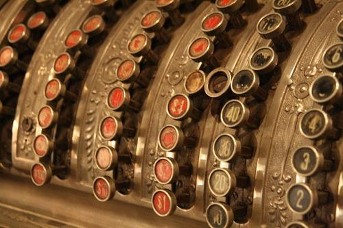Antigua caja registradora