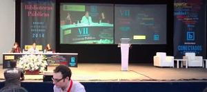 El escenario del Palacio de Congresos de Badajoz