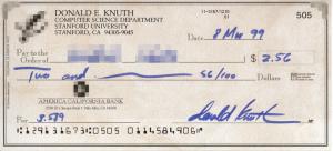 Cheque Bancario Americano (CC)
