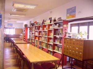 Combinaciónluz natural y artificial en la biblioteca