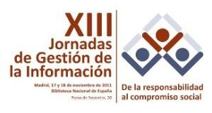 XIII Jornadas de Gestión de Información