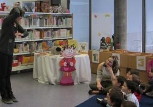 Narración del cuento del gusanito en la BPE de Zamora