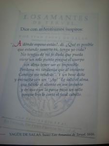 Los Amantes de Teruel obra