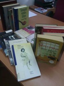 Donaciones de libros en bibliotecas