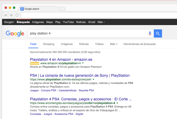 Google-PlayStation4