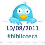 """El día """"B"""" de #biblioteca en Twitter"""