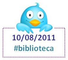 Biblioteca en Twitter