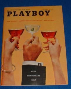 Portada del número de 'Payboy' de diciembre de 1959
