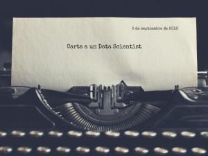 Carta a un Data Scientist