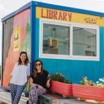 Biblioteca del campo de refugiados de Oinofyta