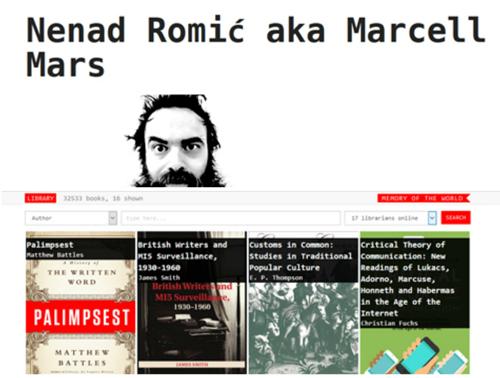 Todos pueden ser bibliotecarios con Marcell Mars