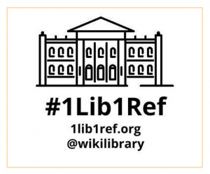 #1lib1ref wikipedia