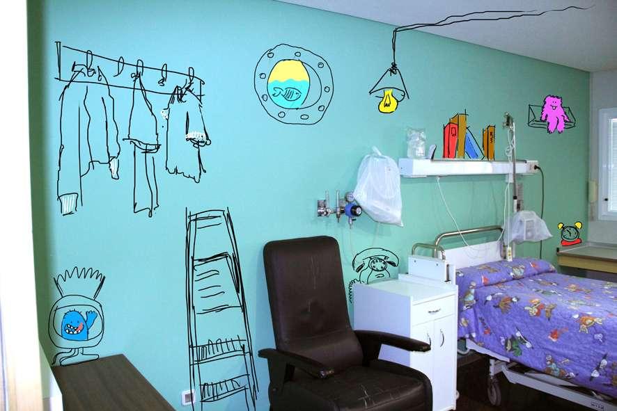Libros, bibliotecas y arte como medicina en los hospitales