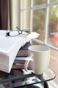 cofee and books