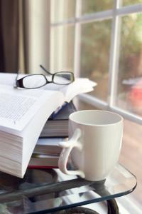 cofee and books