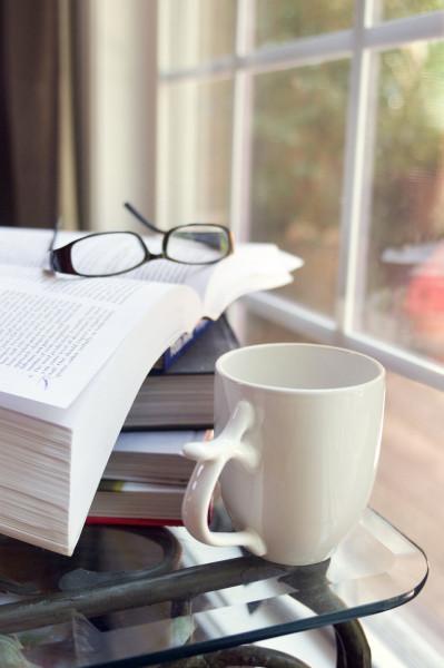 Cafés, dulces…y libros