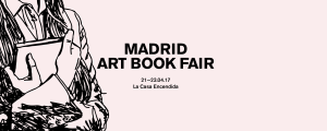 Cartel Feria Libros mutantes Madrid Art Book Fair