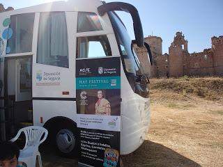 Bibliobuses de Segovia y animación a la lectura. Campañas de imaginación