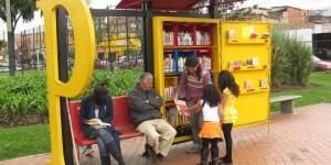 Paraderos de lectura de Fundalectura en Colombia