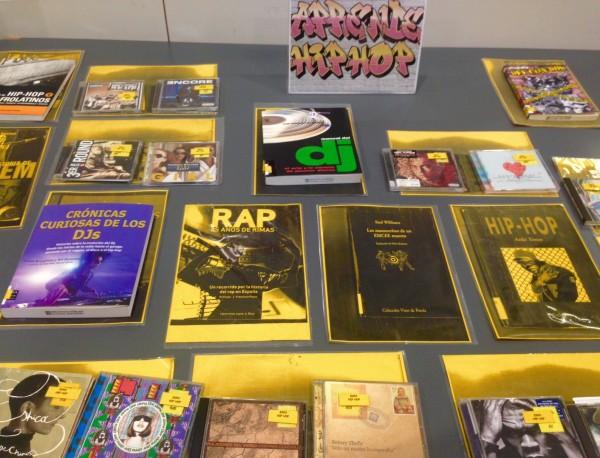 Hip hop en Biblioteca Pública María Moliner