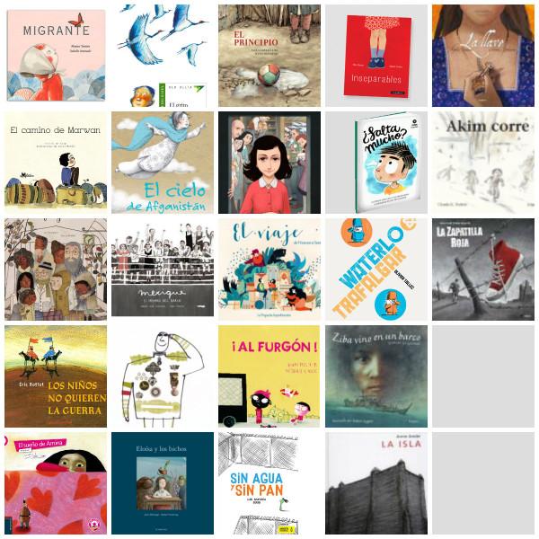 Trabajando el tema de la guerra y los refugiados desde la literatura infantil