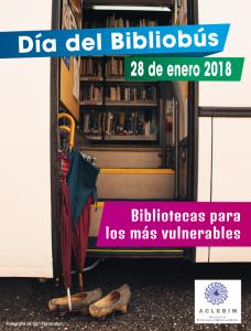 Día del Bibliobus 2018 cartel