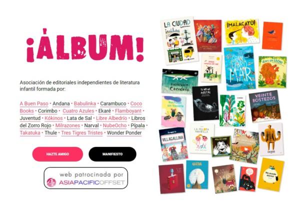 22 editoriales forma parte de la Asociación Álbum