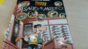 Personajes de cómic: los superhéroes españoles. En la imagen, Superlópez