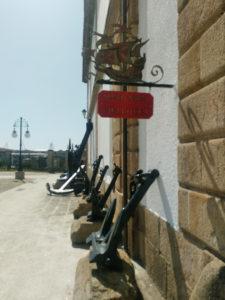 Anclas del Museo Naval de Ferrol