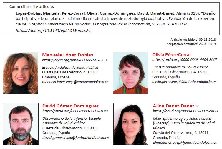 Diseño participativo de un plan de social media en salud a través de metodología cualitativa: evaluación de la experiencia del Hospital Universitario Reina Sofía