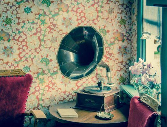 Imagen de un gramófono