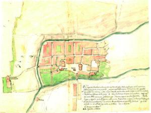 Planta de la ciudad de Almendra