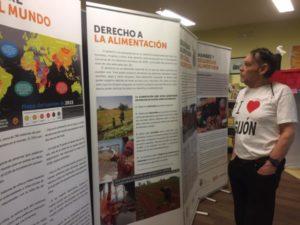 Exposición Hambre y Seguridad Alimentaria en colaboración con Global Humanitaria Biblioteca Pública Alfonso Camín de Roces