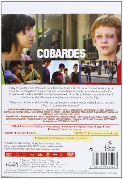 carátula de película que incluye audiodescripción en castellano