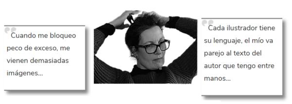 Rocío Martínez, Ilustradora